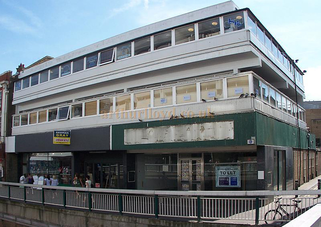 The Site of the Hippodrome Theatre, Southend-on-Sea in August 2009 - Photo: Matthew Lloyd - www.arthurlloyd.co.uk