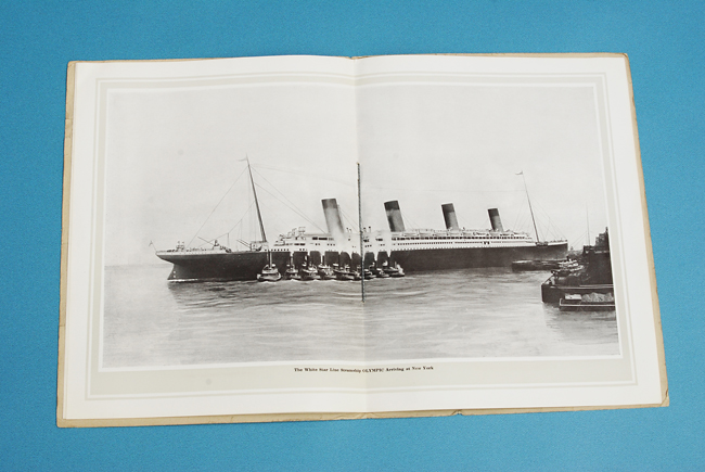 Brochure RMS Olympic