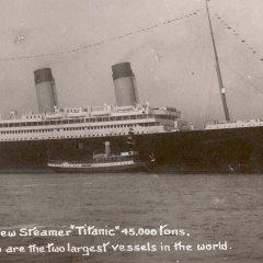 Postkaart Titanic - gepost 10 april 1912
