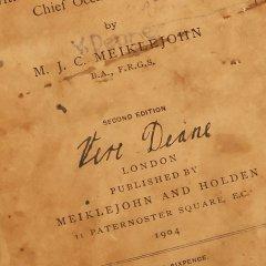 Schoolboek van Bertram Vere Dean